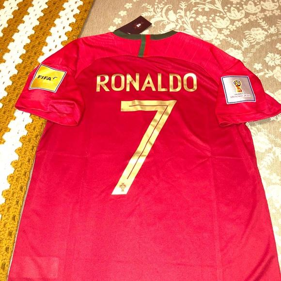 timeless design df18d ecaf4 Ronaldo Portugal soccer jersey World Cup size XL NWT